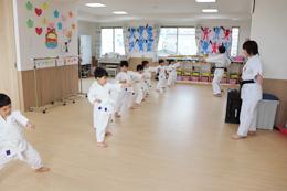 (課外活動)空手教室